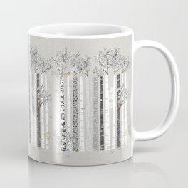 BRICH TREES & BIRDS Coffee Mug