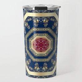 Oriental motifs Travel Mug