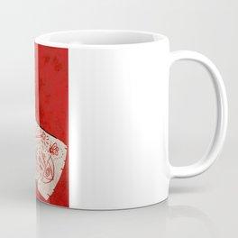 bite the hand. Coffee Mug