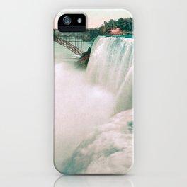 American Falls of Niagara - Photochrom - 1898 iPhone Case