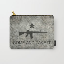 Come and Take it Flag with AR-15 Carry-All Pouch