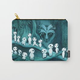 Kodama and the Forest Spirit Carry-All Pouch