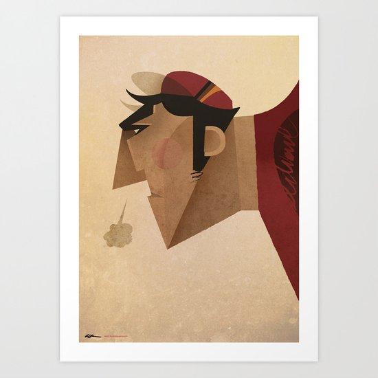 Diaul Art Print