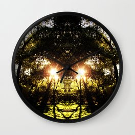 DMT Ferntree Forest Wall Clock