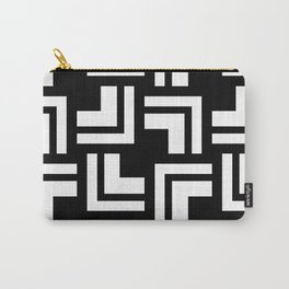 Black and White - L1 Carry-All Pouch