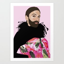 queen jvn Art Print