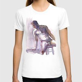 PATRICK, Nude Male by Frank-Joseph T-shirt