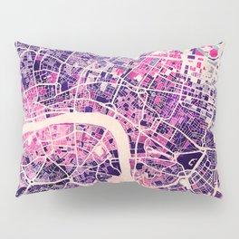 London Mosaic Map #2 Pillow Sham