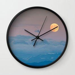 Full super moon December 2017 Wall Clock