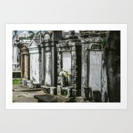 Lafayette Cemetery Art Print