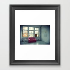The Pink Sofa' Framed Art Print