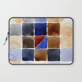 Color Chart - Burnt Sienna (W&N) and French Ultramarine (DS) Laptop Sleeve