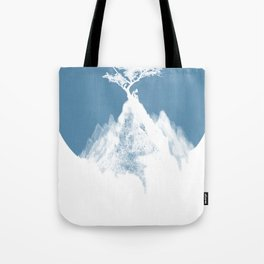 Moon to a tree Tote Bag