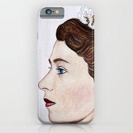 Elizabeth II iPhone Case