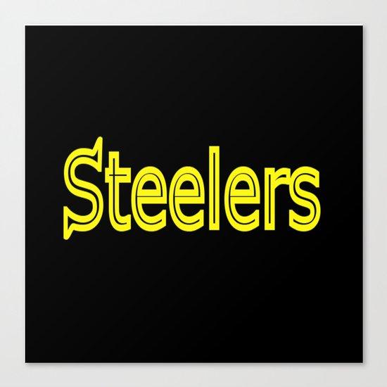 Steelers - #1 Canvas Print