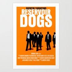 Reservoir Dogs Movie Poster Art Print