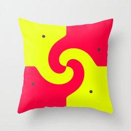Cute Friends  Throw Pillow