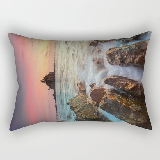 Sea Rock Rectangular Pillow