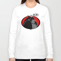 ape Long Sleeve T-shirts featuring GO, APE by JVZ Designs