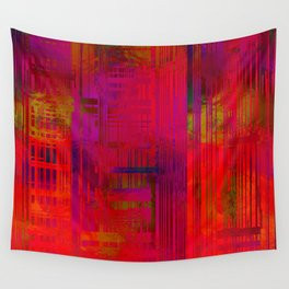 SchematicPrismatic 10 Wall Tapestry