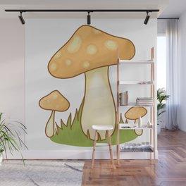 magic mushroom Wall Mural