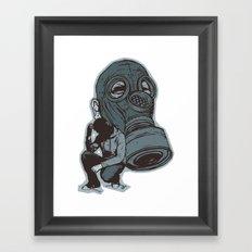 Gespenster Framed Art Print