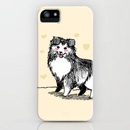 A Very Good Boy (Cream) iPhone Case