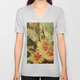 Cactus Beauty Unisex V-Neck