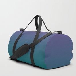 Ultra Violet Quetzal Green Gradient Pattern Duffle Bag
