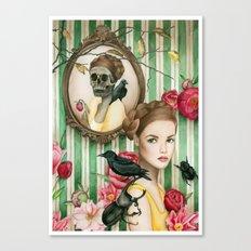 The Portrait of Dorianne Gray Canvas Print