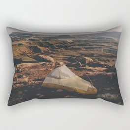 Camp Canyonlands Rectangular Pillow