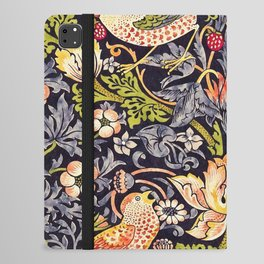 William Morris Strawberry Thief Art Nouveau Painting iPad Folio Case