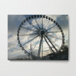 Roue de Paris Metal Print