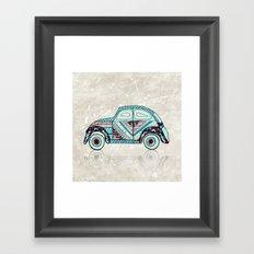 VosVos in Wonderland Framed Art Print