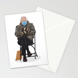 Bernie In Mittens Stationery Cards