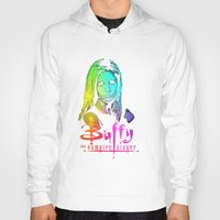 buffy Hoodies featuring Buffy Multicoloured by Paul Elder