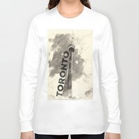 toronto Long Sleeve T-shirts featuring Toronto  by Crystal