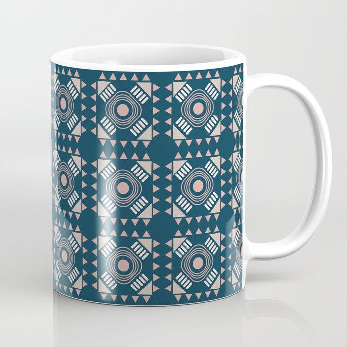 Eli Blue Teracotta Coffee Mug