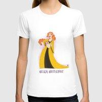 hufflepuff T-shirts featuring Helga Hufflepuff by Hailey Del Rio