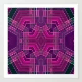 GeoBerry Art Print