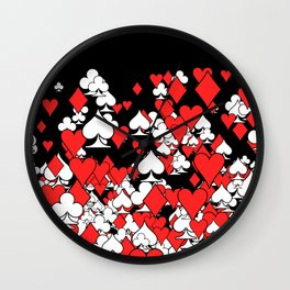 Poker Star II Wall Clock