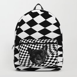 Crazy Frenchie Backpack
