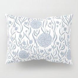 Delft Dahlias Pillow Sham