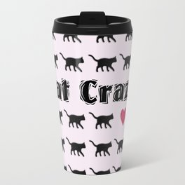 Cat Crazy Travel Mug