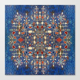 Scandinavian Daylights (Multiplied) Canvas Print