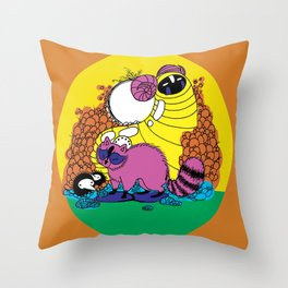 Whats goin' on Throw Pillow