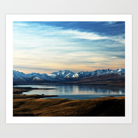 If Nobody Speaks // Landscape Mountains Photography Art Print