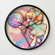 Candy Candy Wall Clock