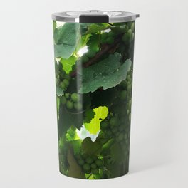 Green grapes Nature Design Travel Mug