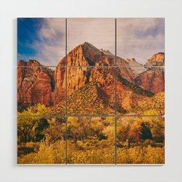 Zion National Park Fine Art Print Wood Wall Art